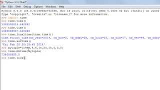 Python Programming Tutorial - 33: Date & Time Functions (Part-1)