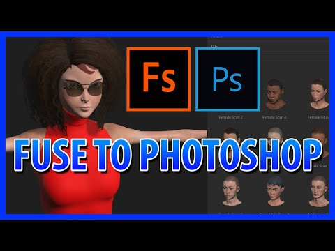 Adobe fuse photoshop – Adobe Fuse CC Tutorial – Create 3D characters, bring them into Photoshop CC