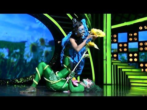 D3 D 4 Dance I Ann Mary & Vineesh - Malarkale I Mazhavil Manorama