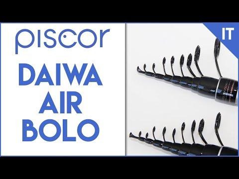 Canna da pesca Daiwa Air Bolo. La Super Slim Raffinata