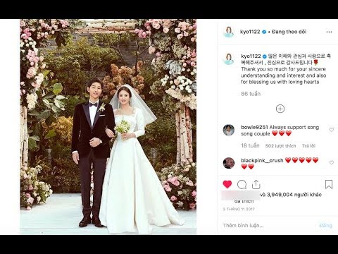 Song Hye Kyo made the first move: delete wedding photos, all traces of her husband on Instagram