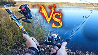 Telescoping Fishing Pole Vs Classic Fishing Rod