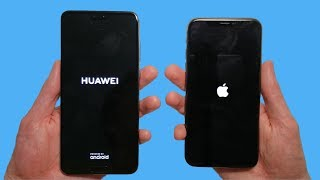 Huawei P20 Pro vs iPhone X Speed Test & Camera Comparison!