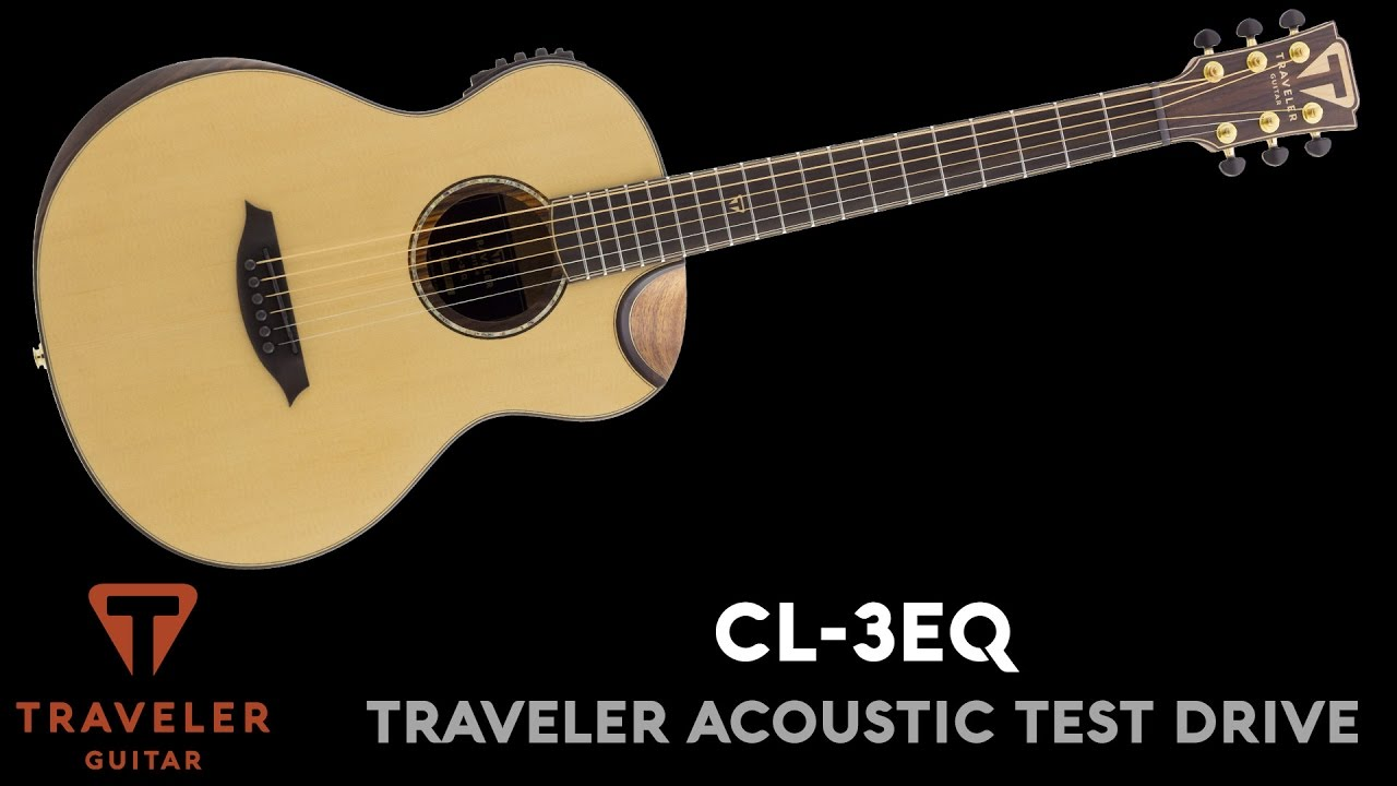 Traveler Guitar CL-3EQ Acoustic Guitar Test Drive Product Demo