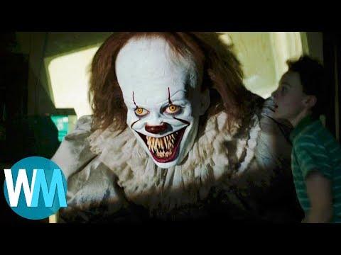 top 10 scariest scenes from it 2017