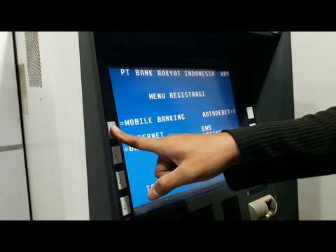 Video Cara registrasi internet banking dan mobile bangking BRI