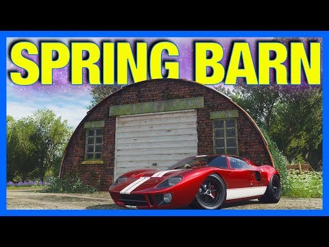 Forza Horizon 4 Barn Finds: ALL Barn Find Map Locations list