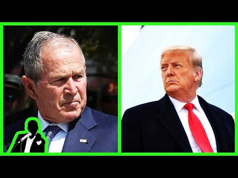 Trump LASHES OUT At W. Bush: 'He Shouldn't Be Lecturing Anybody!'