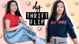THRIFT FLIP 💫trEndy Clothing Transformations (part 3) | JENerationDIY