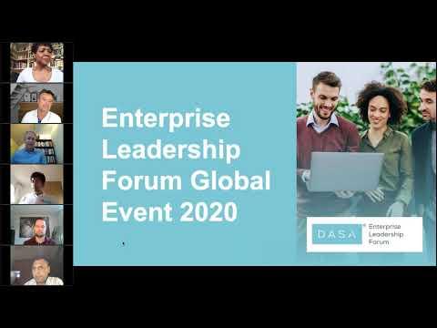 Enterprise Leadership Forum Global Event 2020 Session 1 - YouTube