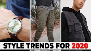 7 BEST Style Trends For 2020 | Mens Fashion Trends | Alex Costa