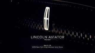 All-New Lincoln Aviator to Land at New York Auto Show