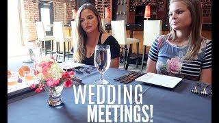 MORE WEDDING MEETINGS! FLORIST & FOOD TASTING! | Casey Holmes