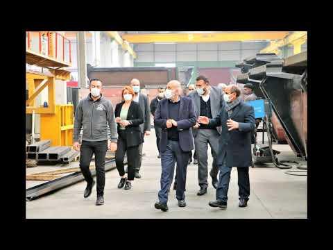 TSO Başkanı Kaya ve OSB Başkanı Fidan'dan firma ziyareti
