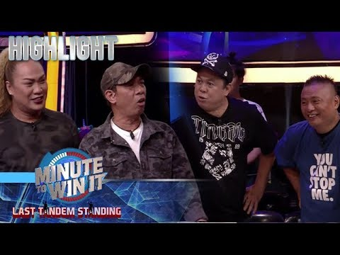 Dennis at Andrew E , may offer kay Luis para tanggalin sina Negi at Long | Minute To Win It