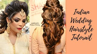 Indian Wedding Hairstyle By Amisha Salunkhe