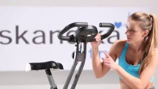 skandika Foldaway X-1000 Fitnessbike - Aufbauvideo