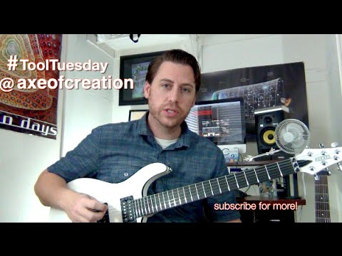 10,000 Days Guitar Lesson Tool Tuesday