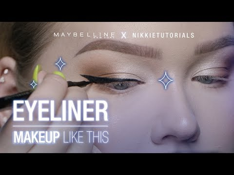 Step Your Eyeliner Game Up With NikkieTutorials' Tips | Maybelline New York