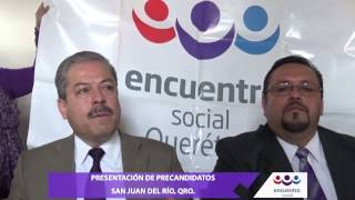 preview picture of video 'Presentación de Precandidatos en San Juan del Río, Qro.'
