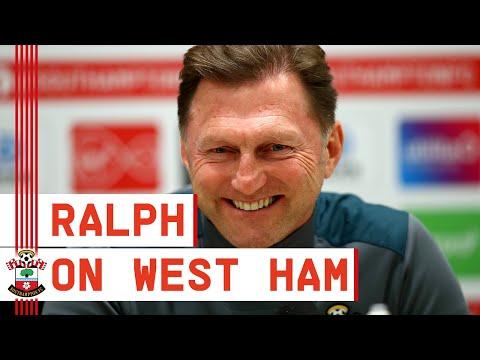 PRESS CONFERENCE | Ralph Hasenhüttl's pre-West Ham United address