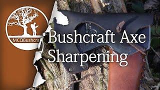 Bushcraft Axe Work: Sharpening