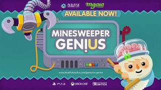 Вышла игра Minesweeper Genius на Xbox One, PS4 и PC!