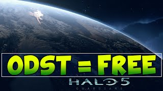 Halo 3: ODST on Xbox One for FREE! - Halo 5: Guardians Gameplay - (Halo MCC Compensation)