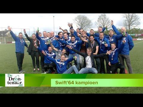VIDEO | Blijdschap en vooral opluchting bij Swift'64 na binnenhalen titel