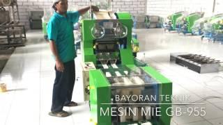Mesin Pemotong dan Penggulung Mie Otomatis, Model GB 955.  Sistem baru Tahun 2017