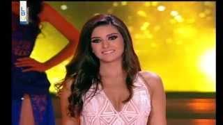 Saly Greige Miss Lebanon 2014 Winner