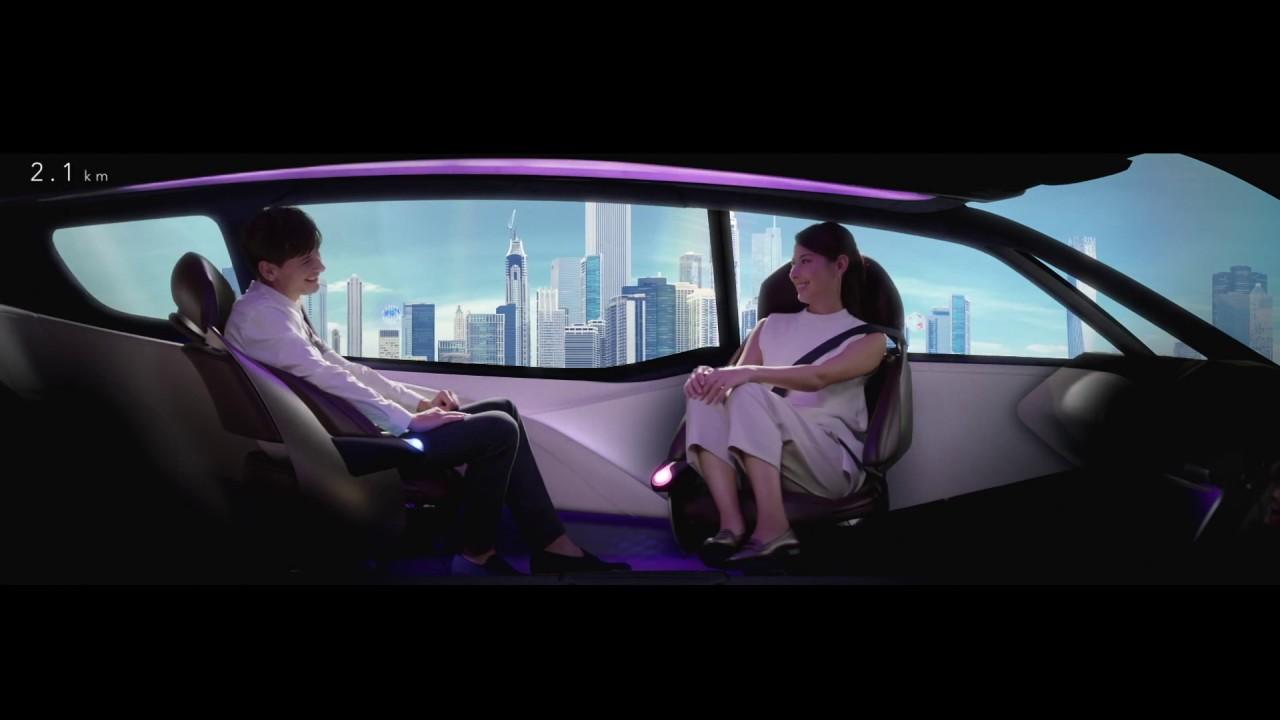 FINE-COMFORT RIDE 自動駕駛氫燃料電池車 概念影片