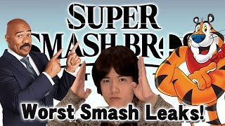 THE WORST LEAKS I HAVE EVER SEEN!? - Super Smash Bros. Ultimate!