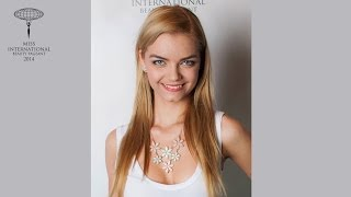 Csernijenko Patrícia Miss Hungary International 2014 Contestant Presentation Video