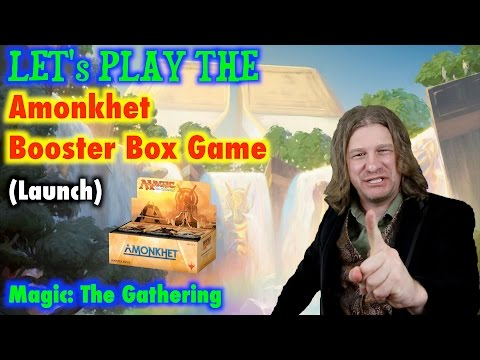 Let's Play The Amonkhet Booster Box Game For Magic: The Gathering! (launch) Mp3