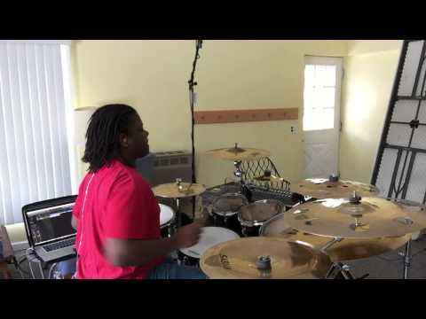 Straight Jacket by C-Dub Gospel Drum Cover