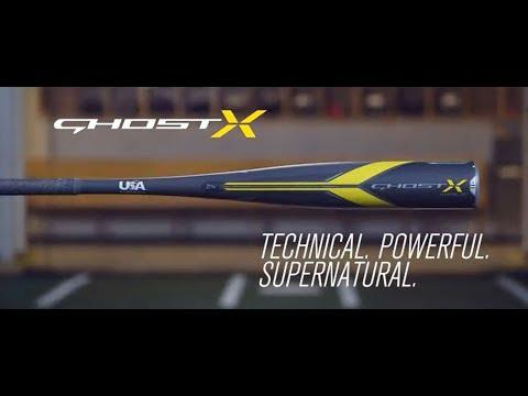 2018 Easton Ghost X Hyperlite -11 USA Baseball Bat: YBB18GXHL