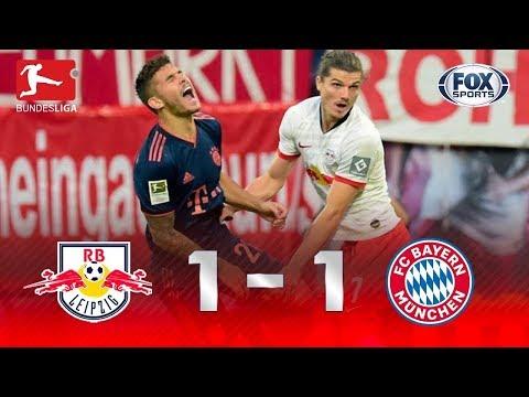 UM JOGO ABSURDO!! Leipzig e Bayern de Munique foi emoção do início ao fim