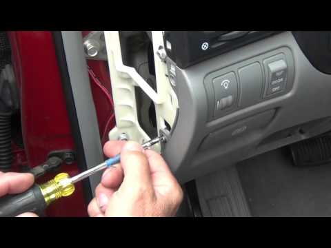 How to Replace the Brake Light Switch on Hyundai Sonata 2006