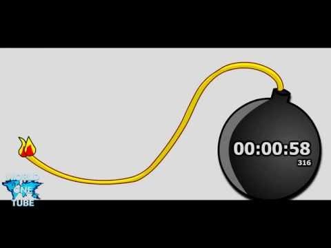 1 Minute Countdown Timer Alarm Clock
