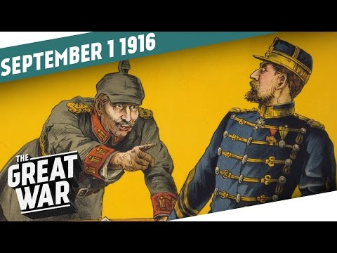 Rumunsko vstupuje do války - Velká válka