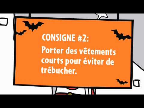 Les consignes de sécurité pour l'Halloween-Épisode 2