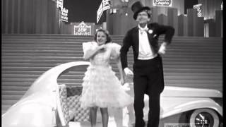 Judy Garland and Buddy Ebsen