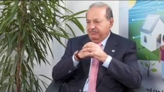 """Euronews Interview   Carlos Slim Helú : """"Le Meilleur Investissement Que Vous Puissez Faire Est De Créer Des Emplois."""""""