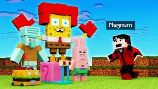 BOB ESPONJA ME ATACA!🤣😱 | Minecraft