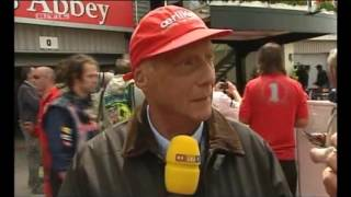 Lauda Proud Of Red Bull And Austria (Silverstone 2009, RTL)