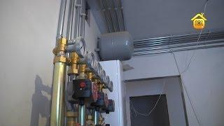 Смотреть онлайн Система отопления загородного частного дома без газа