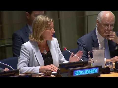Mogherini announces