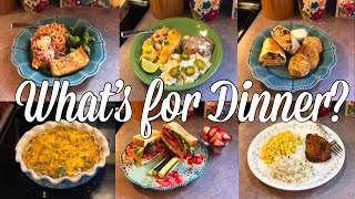 What's for Dinner?| Easy & Budget Friendly Family Meal Ideas| June 24-30, 2019