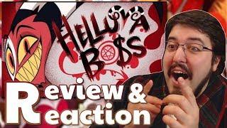 Hazbin Hotel: HELLUVA BOSS Pilot: #Reaction and #Review #AirierReacts